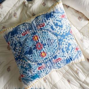 NWT Anthropologie Emari Quilted Pillow Sham